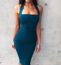Remy Dress Teal Blue