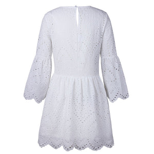 Adele Dress White