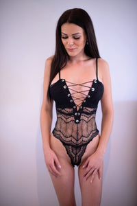 You And I Bodysuit Black