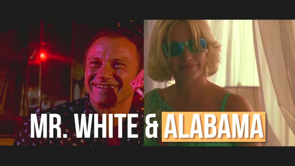 alabama true romance mr white reservoir dogs
