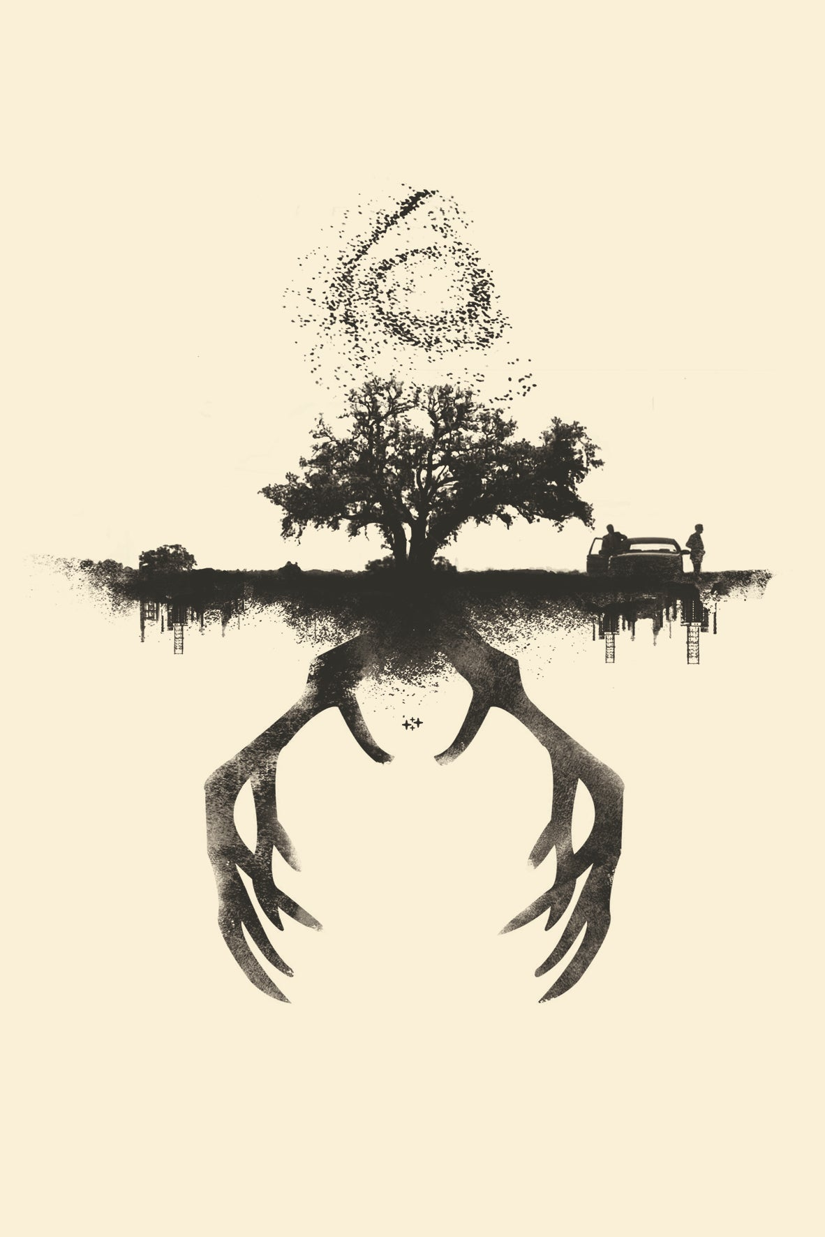 True Detective t-shirt design