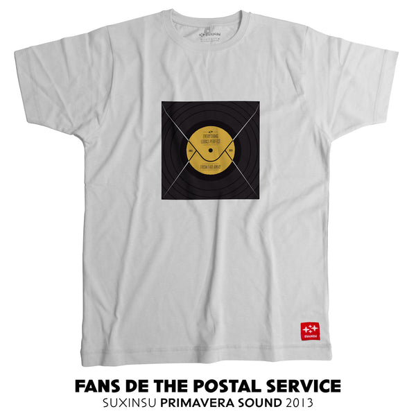camiseta suxinsu the postal service