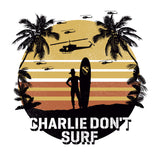apocalypse now charlie dont surf design