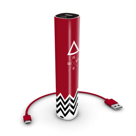 TWIN PEAKS 2600 mAh mobile charger