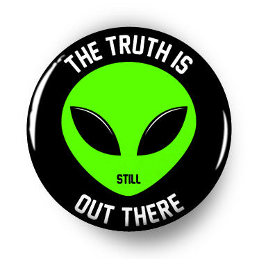 the truth is still out there x files button