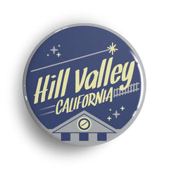 regreso al futuro chapa iman hill valley