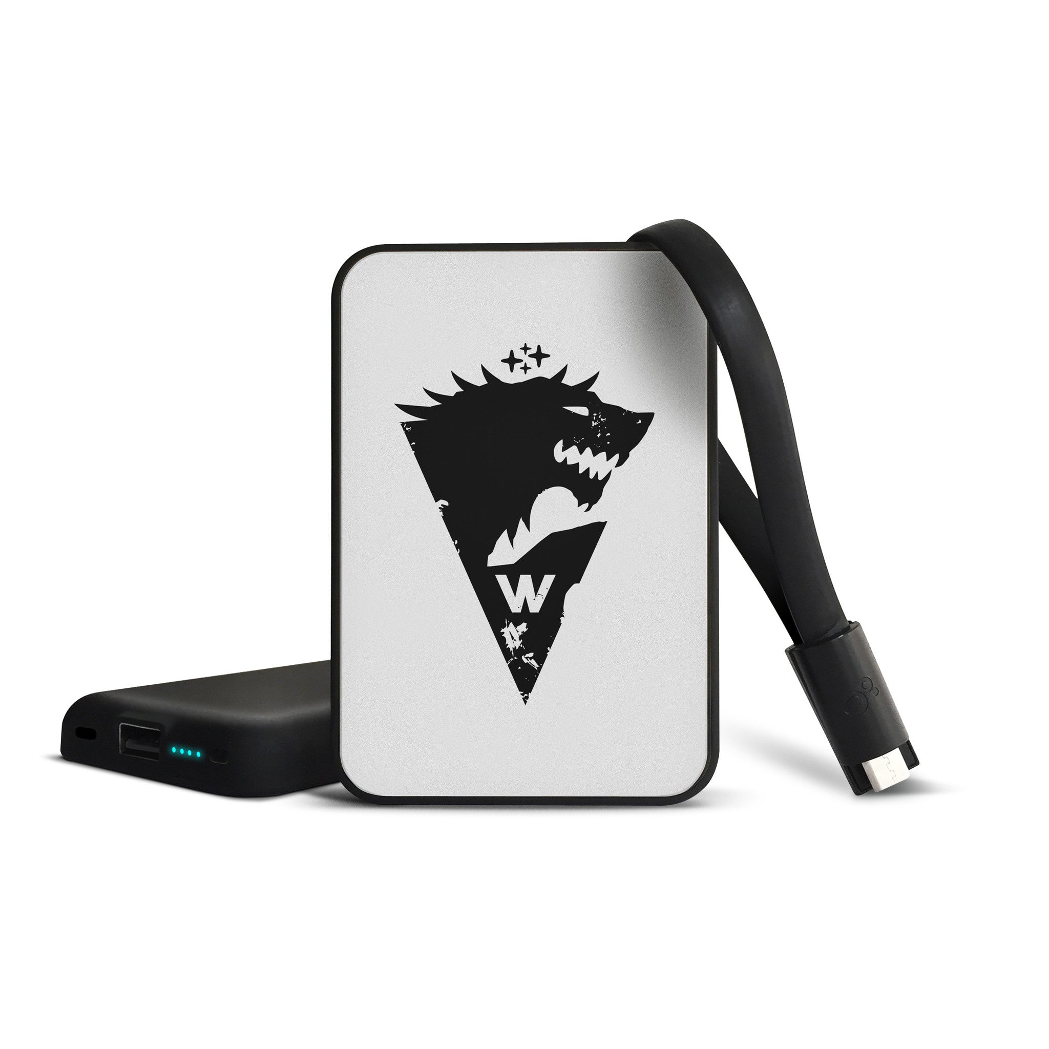 game of thrones stark snow mobile charger