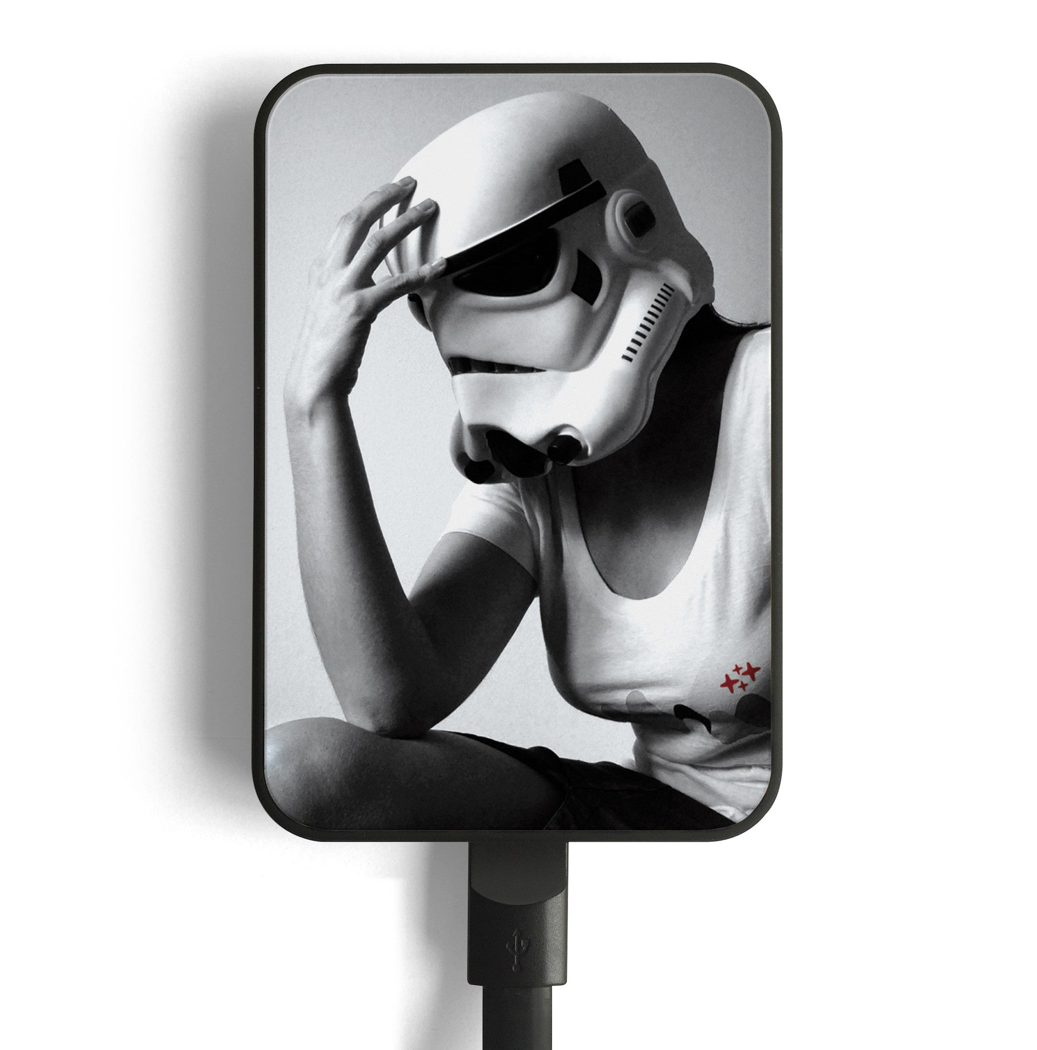 star wars stormtrooper mobile charger