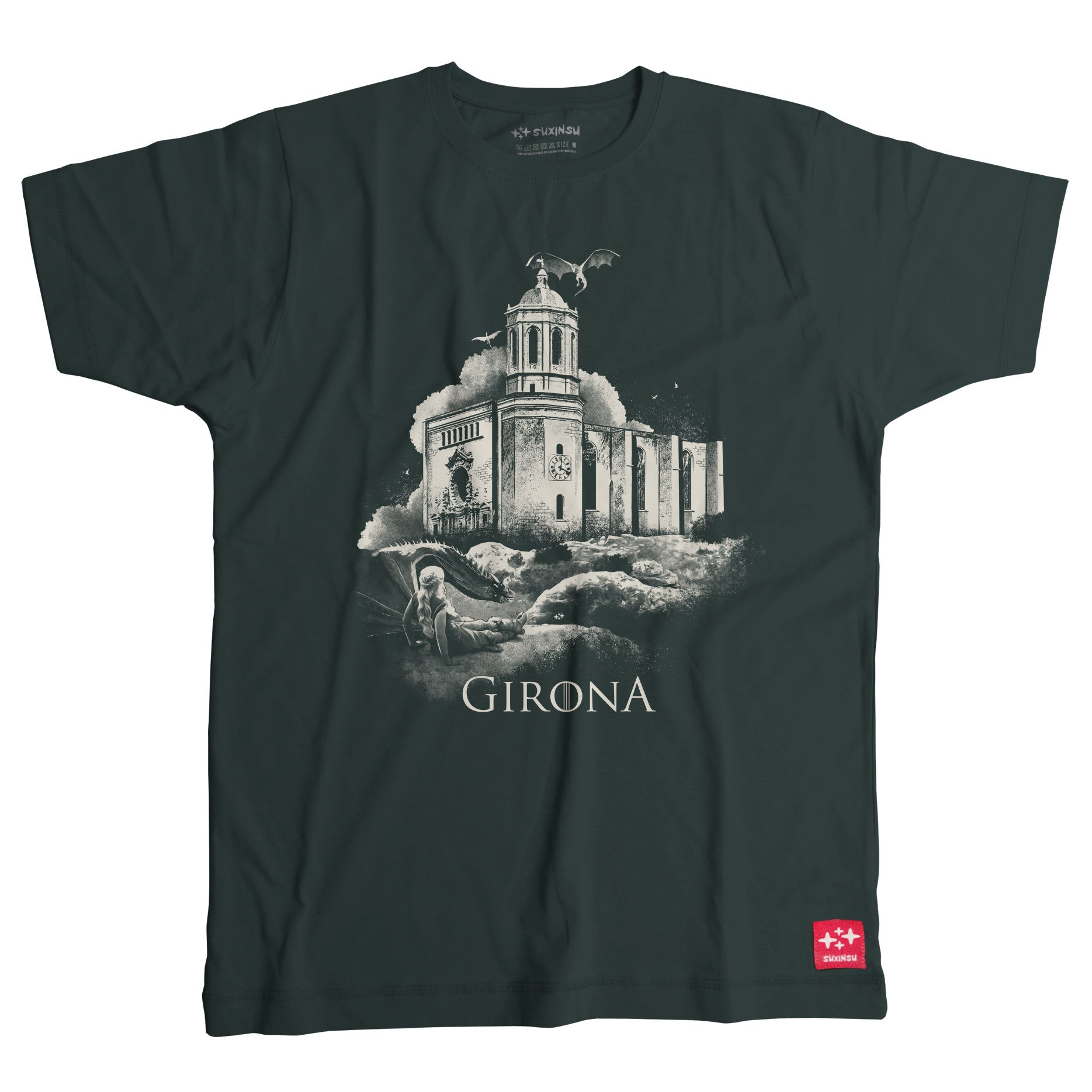 Girona Game of Thrones t-shirt by Suxinsu