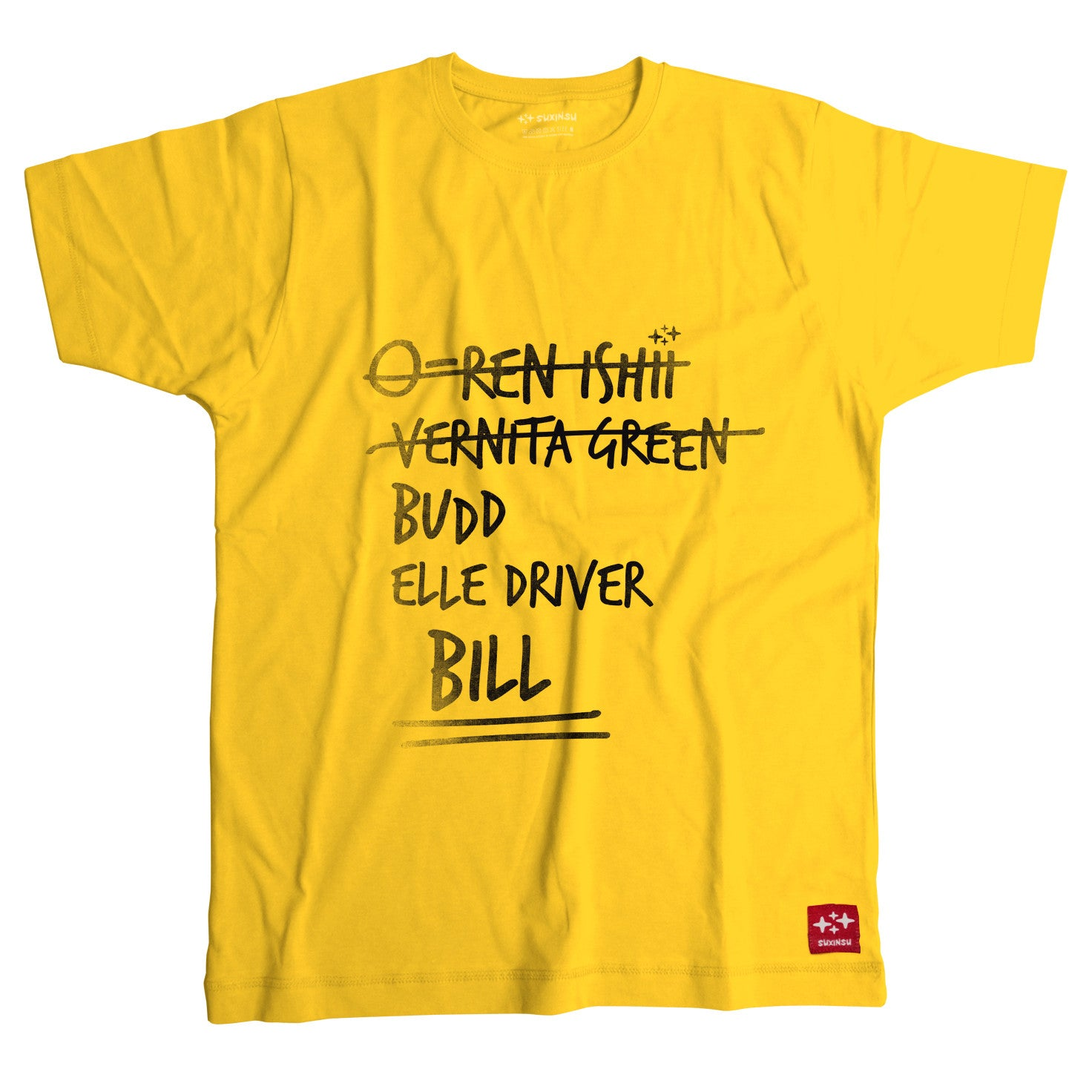kill bill tarantino tshirt by suxinsu