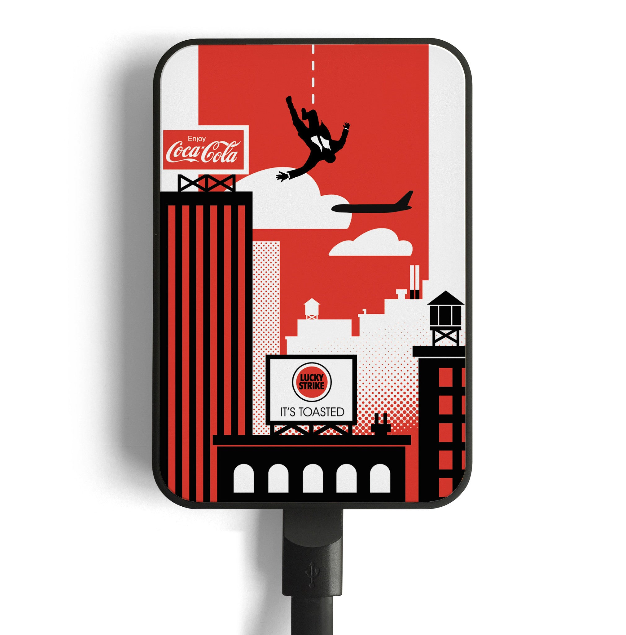 mad men mobile charger