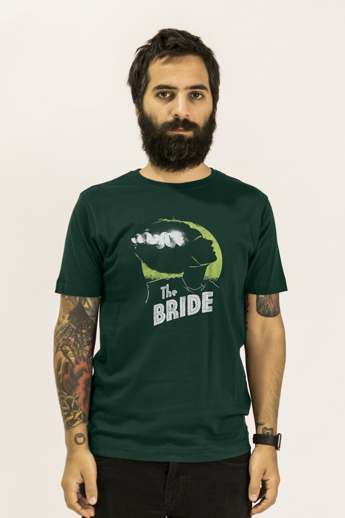 The Bride of Frankenstein design t-shirt by Suxinsu