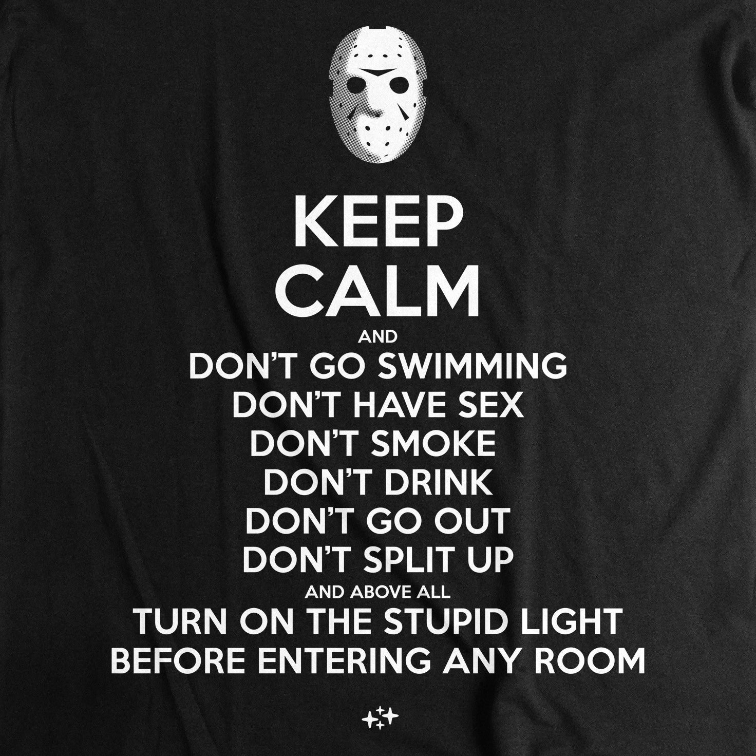 camiseta keep calm viernes 13