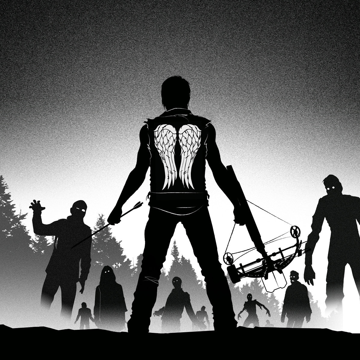 the walking dead design dedicated to Daryl Dixon by Suxinsu