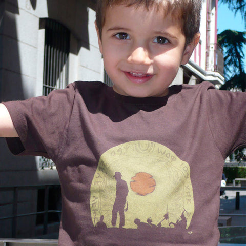 camiseta suxinsu indiana jones niño