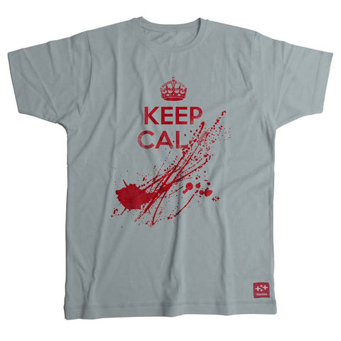 camiseta keep calm zombie