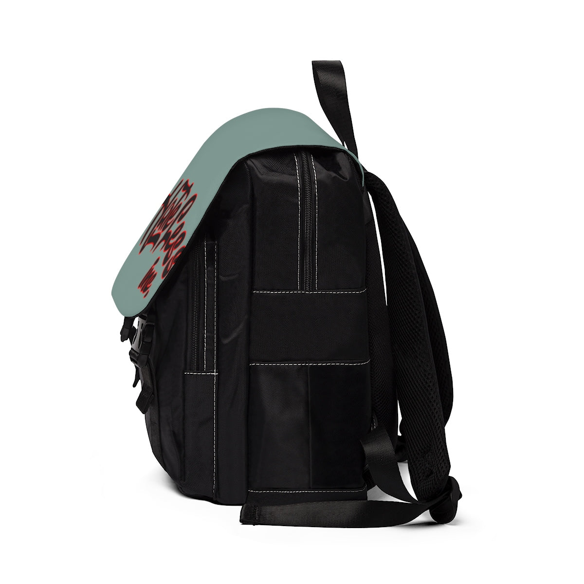 HateLess Unisex Casual Shoulder Backpack