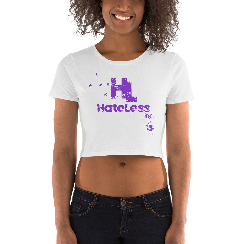 HateLess Women's Crop Tee