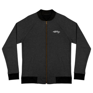 HateLess Embroidered Bomber Jacket