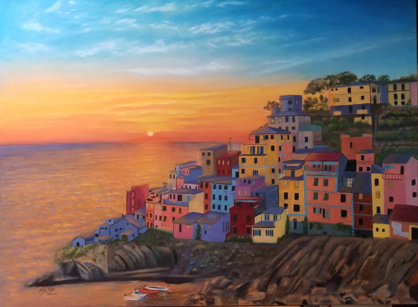 Cinque Terre Sunset - FINAL EPISODE
