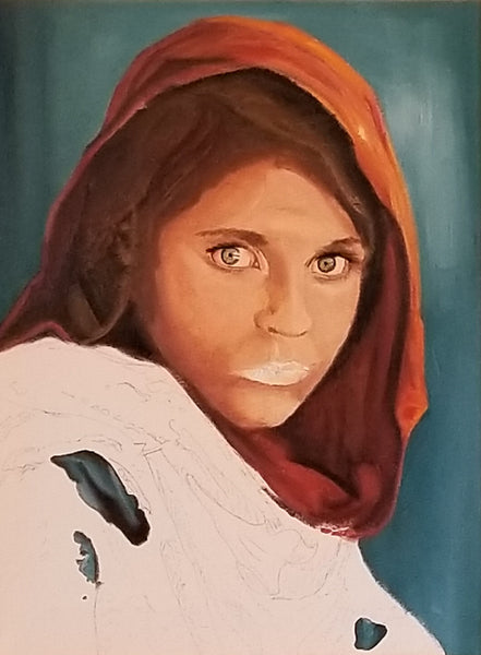 Afghan Girl on National Geographic Cover