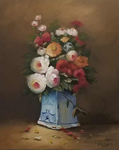 After Cauchois Floral Still Life