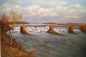 After Bierstadt, The falls of St. Anthony