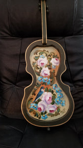 Decorated Violin Cutout