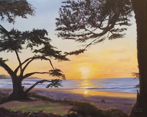Pebble Beach Sunset