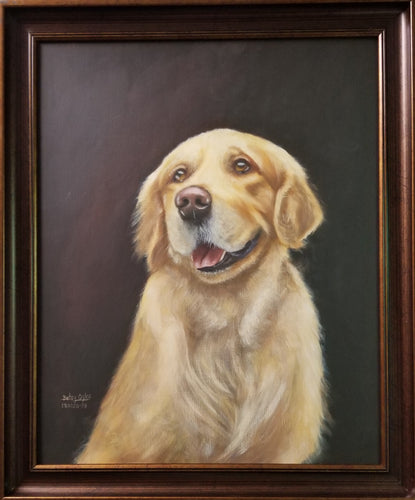 Watson, Golden Retriever Portrait
