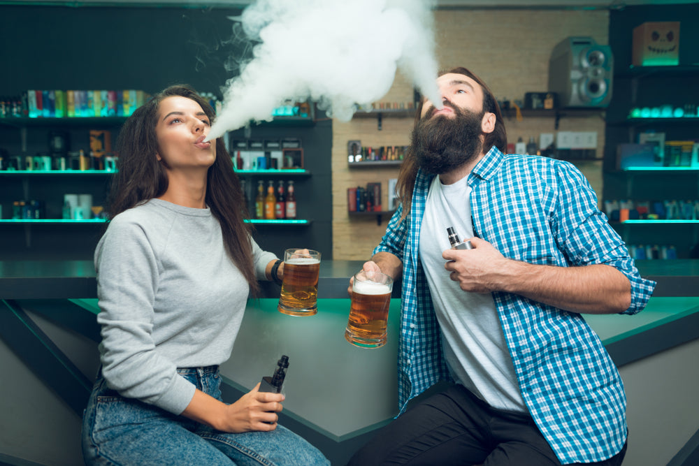 Should a Vaper Still Vape if They Just Drank a Beer?