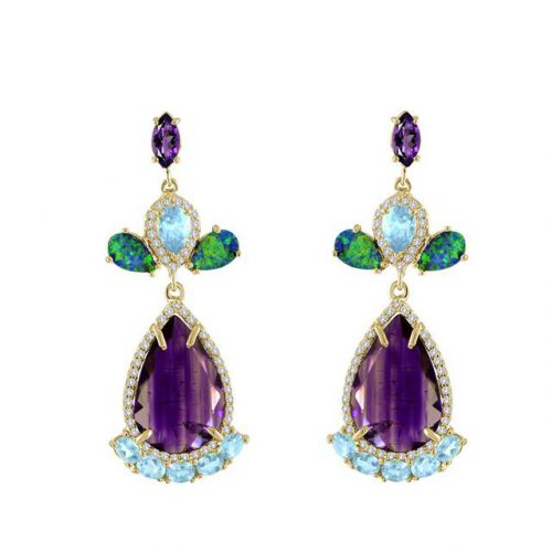 swoonery-eden-presley-earrings|swoonery-jane-taylor-ring|swoonery-syna-ring
