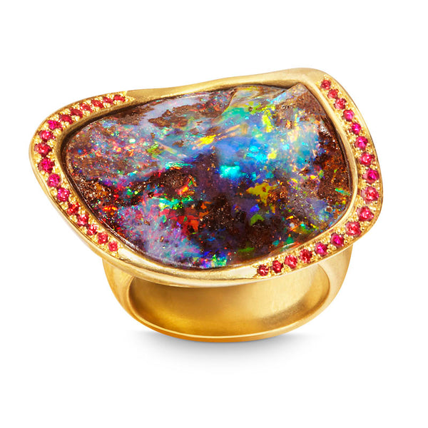 Katherine Jetter OPAL MARQUIS RING