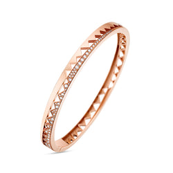 Rose Gold Half Diamond Capture Me Bracelet
