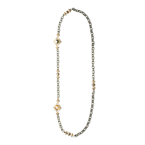 Akoya Pearl Trois Bracelets Convertible Necklace