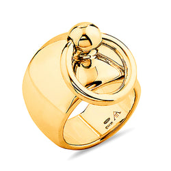 Large Gold Sado-Chic O-Ring