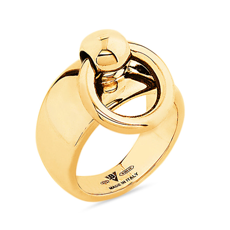 Medium Gold Sado-Chic O-Ring