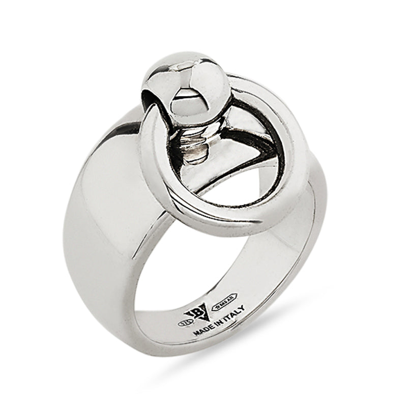 Medium Silver Sado-Chic O-Ring