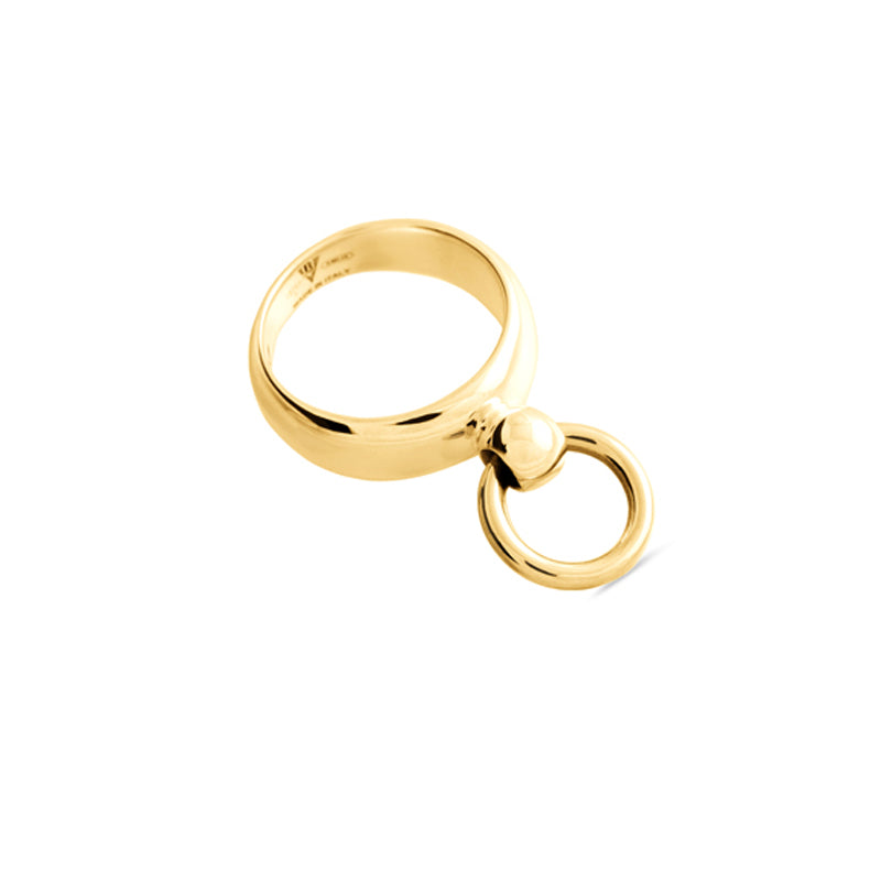 Mini Gold Sado-Chic O-Ring