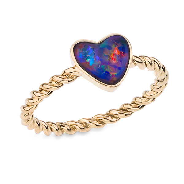 Katherine Jetter Heart Ring