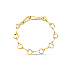 Gold Sado-Chic Chain Bracelet