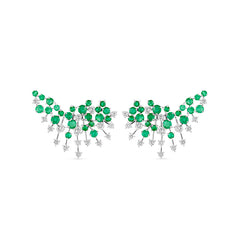 Luminus Emerald Earring