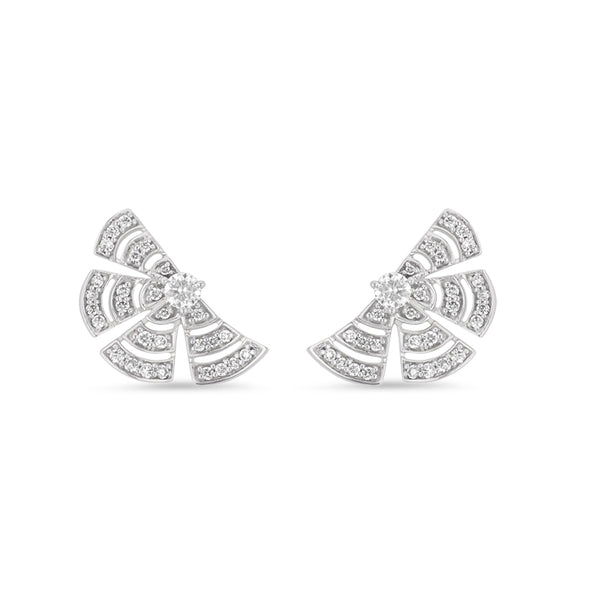 Labyrinth Stud Earring