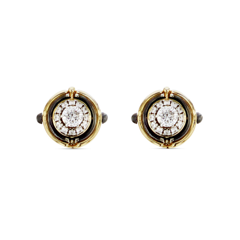 Mira Diamond Stud Earrings