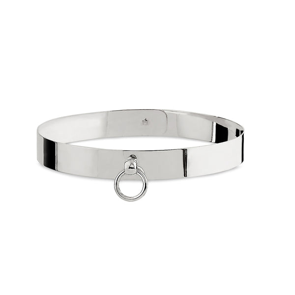 Medium Silver Sado-Chic Collar