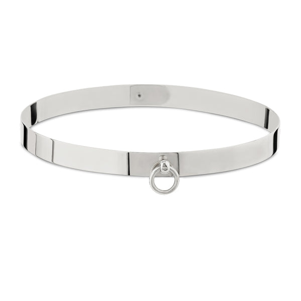 Mini Silver Sado-Chic Collar