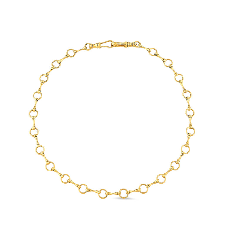 Gold Sado-Chic Chain Necklace