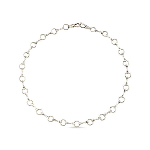 Mini Silver Sado-Chic Chain Collar