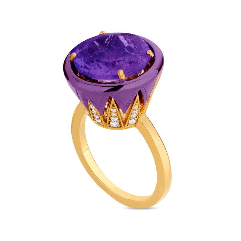 Amethyst Colors Ring