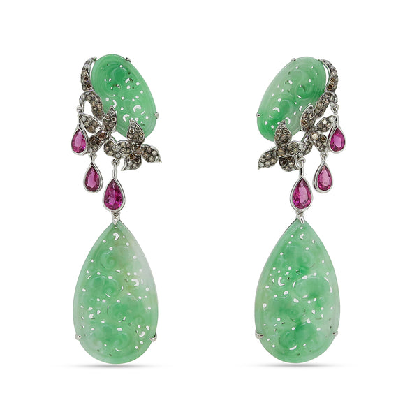Jade Jungle Earrings